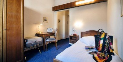 Single Classic room in the International au Lac Historic Lakeside Hotel