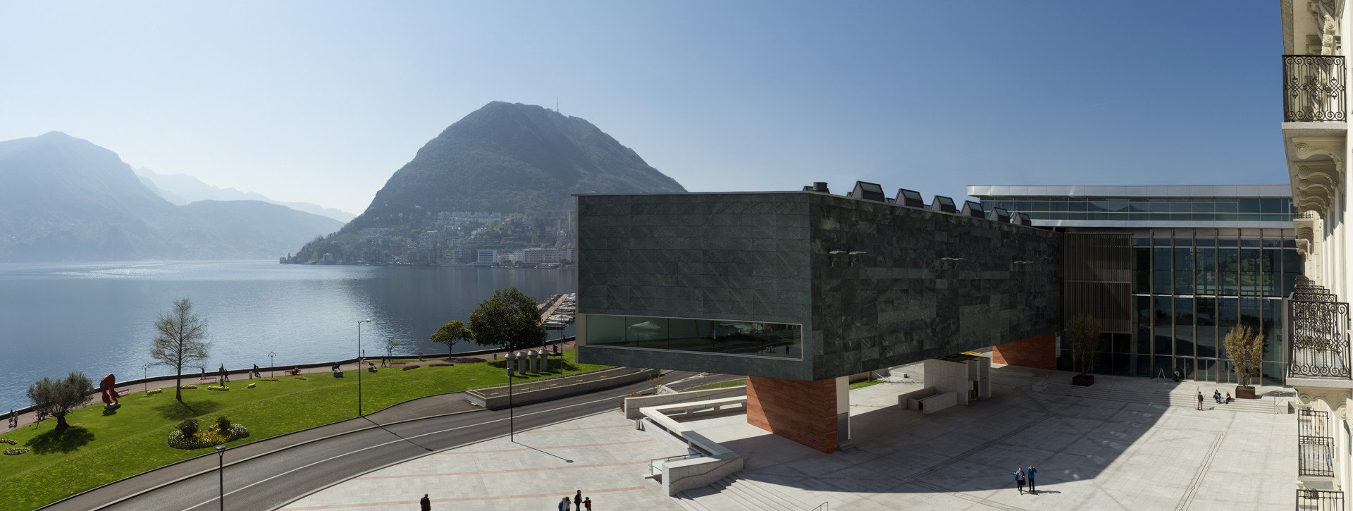 Panorama of the Lugano Arte e Cultura museum