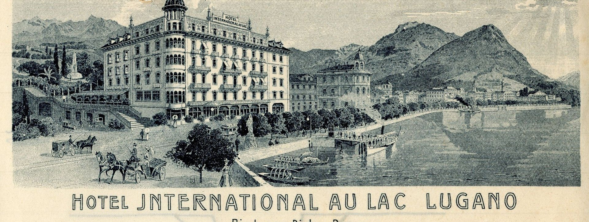 The Hotel International au Lac since 1906