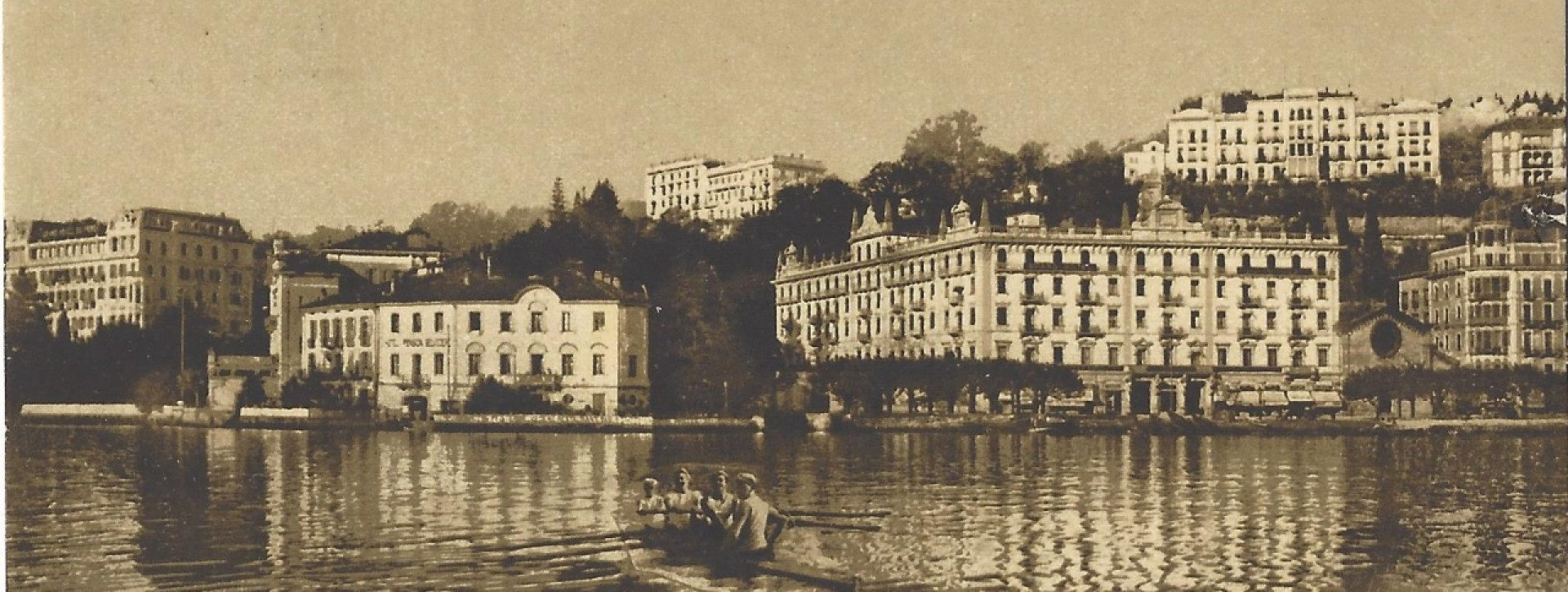 Älteres Foto des Hotel International au Lac Lugano