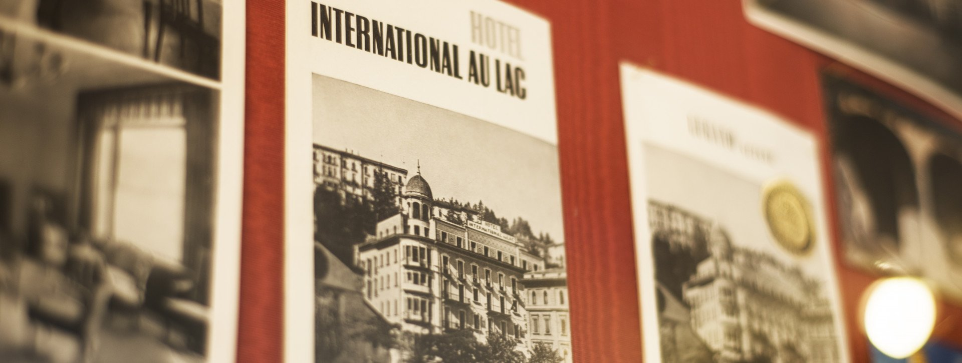 Historic picture of the International au Lac Historic Lakeside Hotel