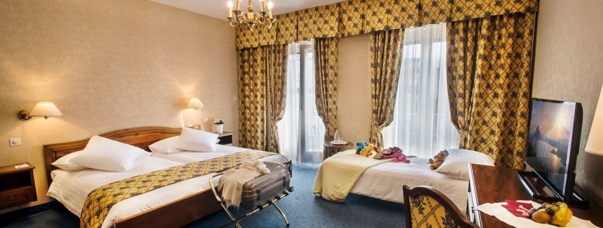 Drei-oder Vierbettzimmer » Hotel International au Lac Lugano